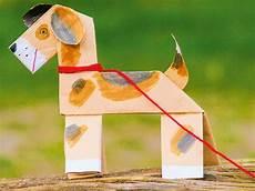 Tiere Basteln Aus Papier - basteln mit kindern kostenlose bastelvorlage tiere hund