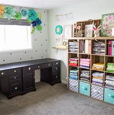 the craft patch colorful craft room tour