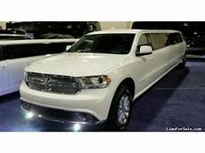 New 2018 Dodge Durango Suv Stretch Limo Specialty