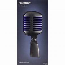 Shure 55 Deluxe Vocal Microphone Chrome