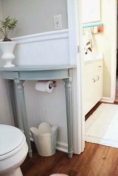 Bathroom Table Storage by Half Table Bathroom Storage Idea Pictures Photos And