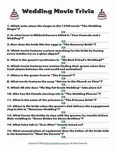 Wedding Quiz Printable wedding wedding trivia 1 95 wedding printable