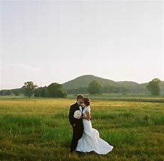 southern wedding field portrait