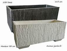bac pour arbuste de jardin bac jardini 232 re en b 233 ton cir 233 115cm quiberon couleur
