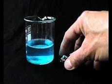 Corrosion De L Aluminium Par Le Sulfate De Cuivre
