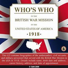 who s who in the war mission in the united states of america 1918 s n genealogy supplies