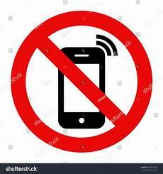 zone de télé mobile phone prohibited no cell phone stock vector