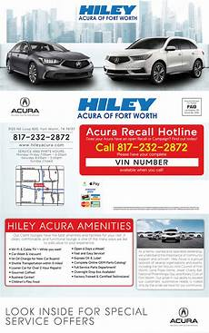 acura service coupons specials near fort worth