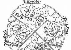 Ausmalbild Jahreszeiten Kostenlos Jahresuhr Jahr Kalender Of Vorlagen Zum Ausmalen