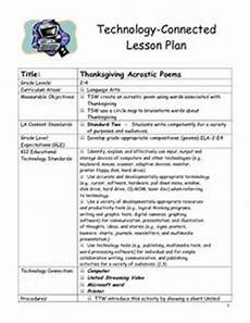 poetry lesson plans for high school 25409 thanksgiving acrostic poems lesson plan for 2nd 4th grade lesson planet