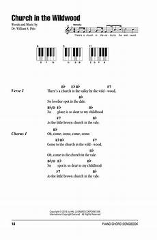 church in the wildwood sheet music dr william s pitts lyrics piano chords