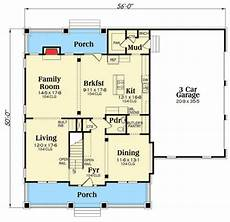 3 garage house plans craftsman with 3 car side load garage 75538gb