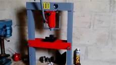 Fabriquer Une Presse Hydraulique Pas Ch 232 Re Suite