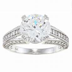 white gold cubic zirconia wedding rings wedding and