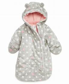 carters coats baby s baby outerwear baby dot print pram bag