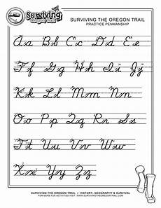 practice penmanship free abc s printable cursive writing worksheet large cursive writing