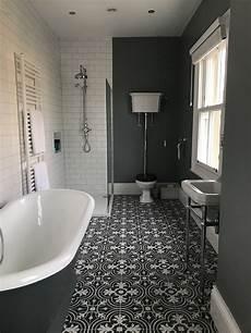 Period Bathroom Ideas Grey Period Bathroom Cast Iron Bath In 2019