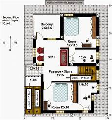 house plans for 30x40 site my little indian villa 40 r33 1bhk and 3bhk in 30x40