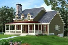 country house plans with porch country home plan with wraparound porch 75439gb