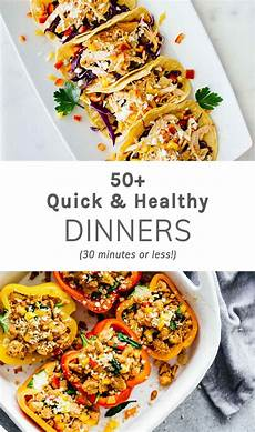 50 quick healthy dinners 30 minutes or less jar of lemons