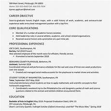 high school academic resume template world of reference