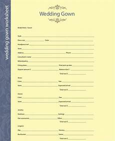 use these fill in the blank wedding planning worksheets to get organized before your big day