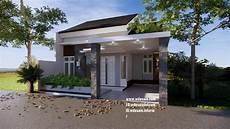 Denah Rumah Minimalis 3 Kamar 7x12 Taman Luas Desain