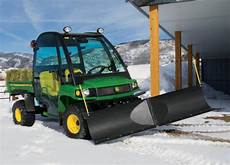 deere gator snow blade options for clearing a path