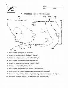 weather map worksheets for high school 14572 a weather map worksheet lesson plan for 6th 8th grade lesson planet