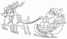 Ausmalbilder Rentier Mit Schlitten Kostenlose Malvorlage Weihnachten Kostenlose Malvorlage