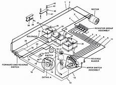 1991 club car wiring diagram my 1991 club car electric will not go in i just replaced the switch gear and am trying