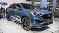 2019 ford edge sport st 2019 ford edge st is a sporty two row crossover autoblog