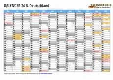 kalender 2018 excel vorlagen 171 kalender 2018