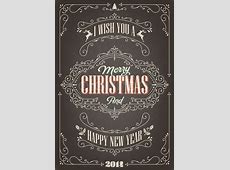 Merry Christmas And Happy New Year Card-Christmas And New Years Images