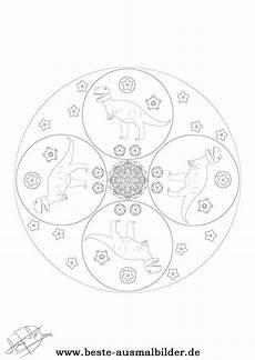 Mandala Malvorlagen Dinosaurier Mandala Dinosaurier Mandalas Dinosaurier Und