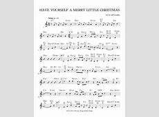 have yourself a merry little christmas piano