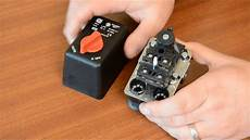 condor mdr1 air compressor pressure switch youtube