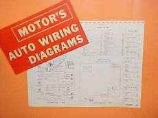 1963 comet wiring diagram 1961 1962 1963 1964 1965 mercury comet s 22 convertible cyclone wiring diagrams ebay