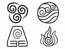 Avatar Elements Symbols By Lightningfarrondevil On Deviantart