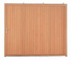 porte de garage coulissante bois les portes de garage en bois