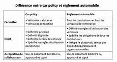 fonction d usage d une voiture flottes expert car policy et r 232 glement automobile