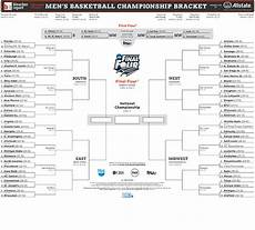 printable ncaa tournament bracket 2014 easy to print sheet with tournament tips bleacher report
