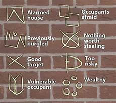 einbrecher symbole bedeutung list of signs and symbols believed to be used by burglers