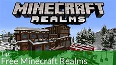 get minecraft realms for free and cheap