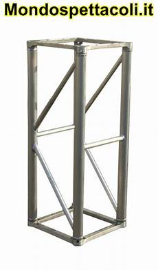 traliccio in alluminio s40 traliccio in alluminio sezione quadrata da 40cm l