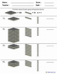 base 10 blocks worksheets math base 10 blocks worksheets