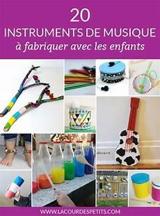 apprendre a bricoler gratuitement 20 instruments de musique 224 fabriquer avec les enfants la