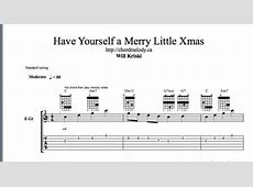 have yourself a merry little christmas uke