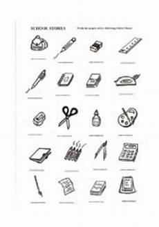worksheets school supplies 18456 school supplies esl worksheet by chance