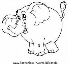 ausmalbilder elefant 5 tiere zum ausmalen malvorlagen